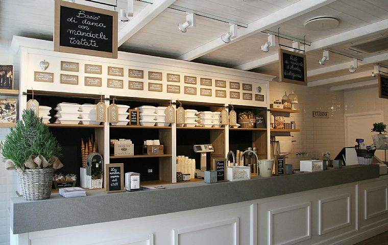 Le gelaterie come le cioccolaterie cioccolato caff e for Bruschi arredamenti