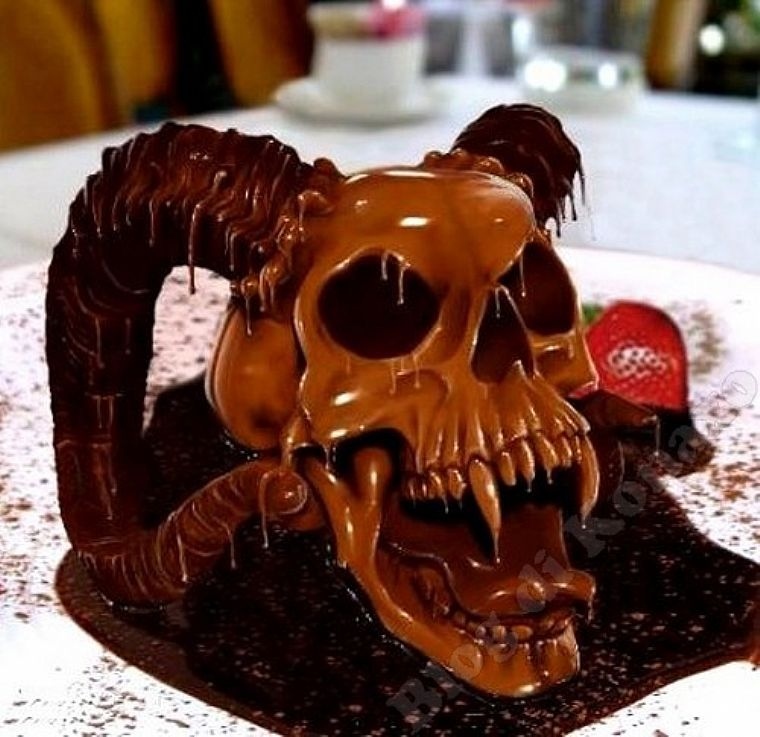 Halloween The Night More Crazy Of The Year Chocolate