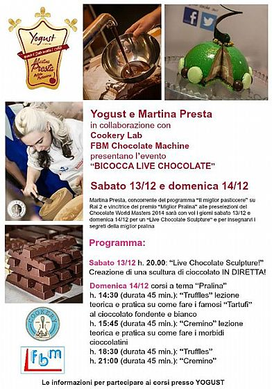 Chocolate and Christmas at the Bicocca Village of Milan