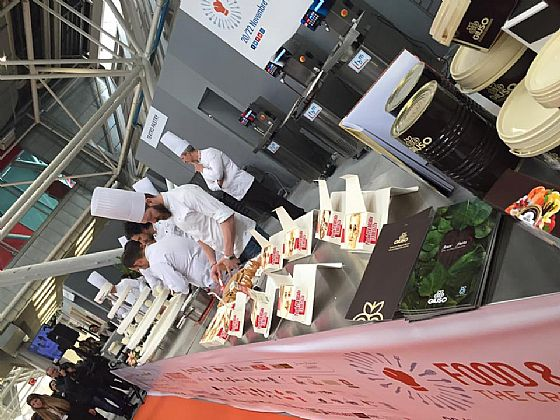 Fbm also at the Food & pastry- the Creative Show!