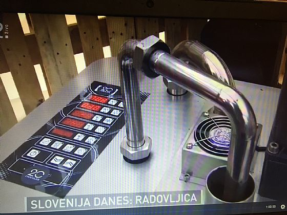 Rumbo and Kleego on television in Slovenia ...
