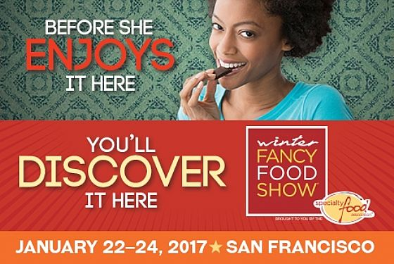 Anche al Winter Fancy Food Show di San Francisco...
