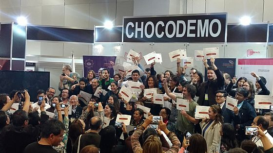 Lima. Tutti insieme con l'International Chocolate Awards.