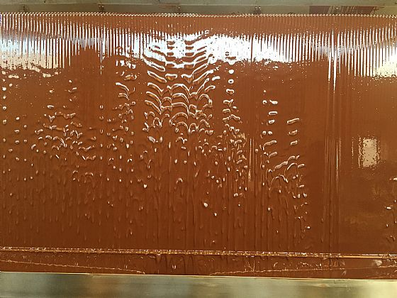 Fluxo,the chocolate wall that impresses...