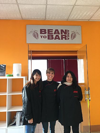Bean to bar Area. Thailandia.