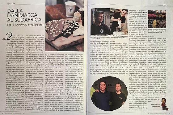 Another chocolate makers story...