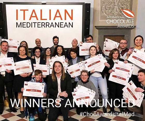 International Chocolate Awards. The Florence final.
