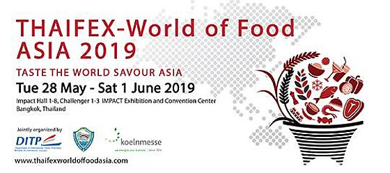 Thaifex. A last appointment of this month for Fbm...