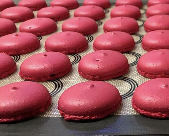 I macarons con Tower Drop...